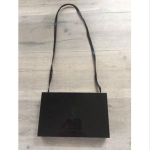 YSL Makeup Box with Strap and Mirror- Black bcaaf327b41c0